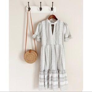 Gianni Bini | Eryn Grey Midi Dress